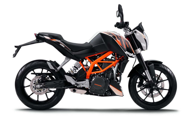 KTM launches 390 Duke at Rs. 1.8 Lakh