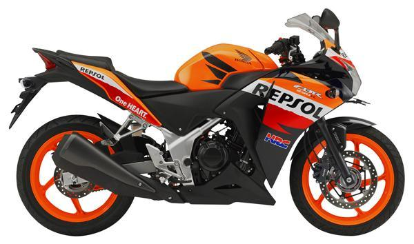 Honda CBR250R now available in Repsol race livery