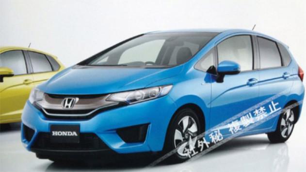 Next-gen Honda Jazz pictures leaked, due in 2014