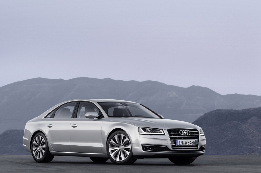 The New Audi A8 Revealed in Frankfurt