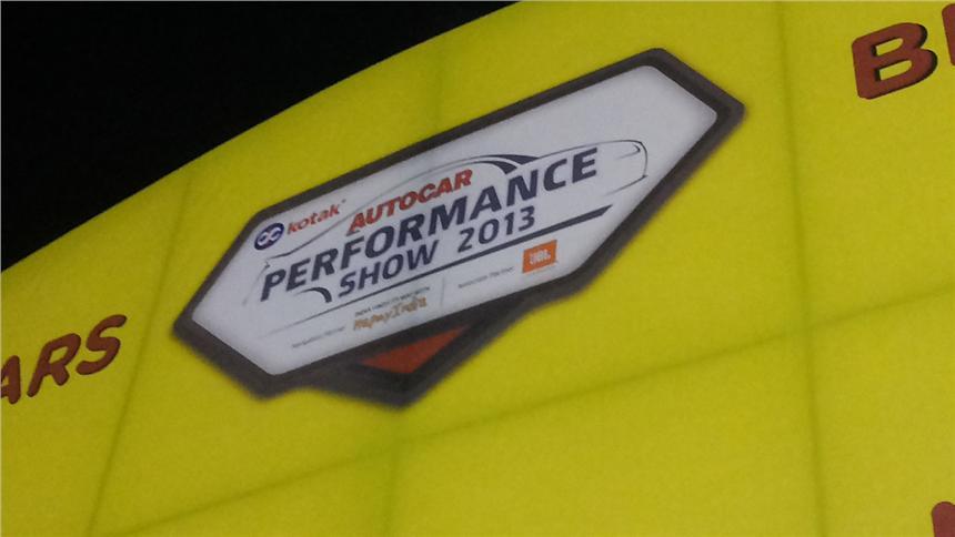 Autocar Performance Show 2013