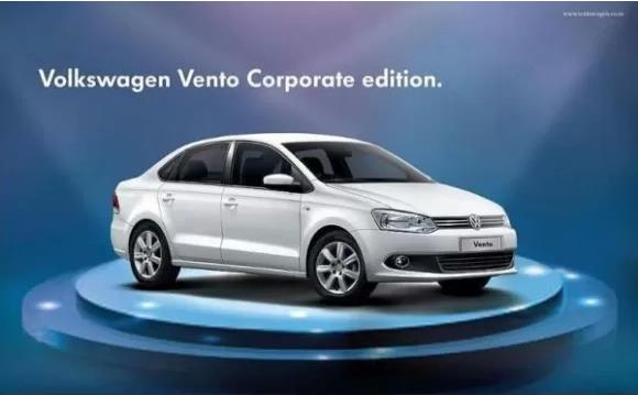 Volkswagen Vento Corporate Edition Launched