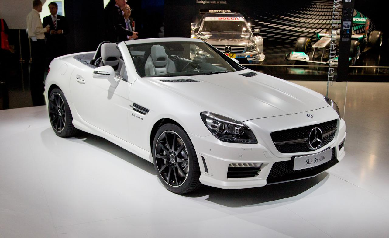 Mercedes slk 55 amg to launch in india on 2nd december for Mercedes benz slk 55