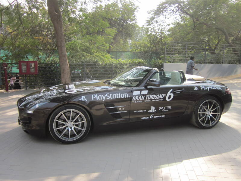 Mercedes Benz and Sony PlayStation Partner For A Racing Challenge in India To launch Grand Tourismo 6