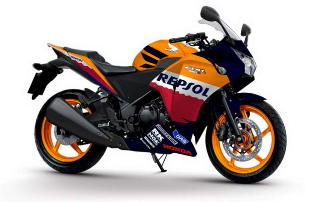 Honda ties up with Tour de India 2013, CBR250R Official Bike