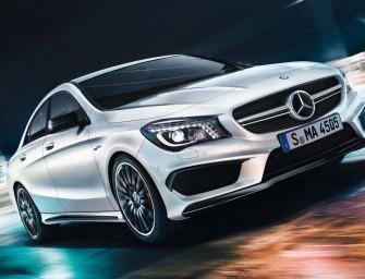 Mercedes Unveils Sub-Crore Sports Car, Meet The CLA 45 AMG