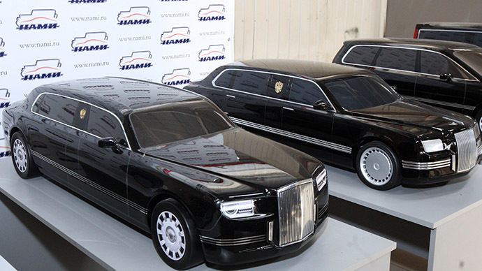 Russia's Central Scientific Research Automobile and Engine Institute Exhibited some models of Project Cortege