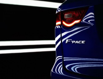 Jaguar Enters the Luxury SUV Segment with the 'F-Pace'