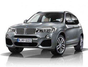 BMW X3 xDrive SUV Line Now Has A Sport Variant