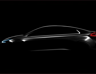 Hyundai Teases its First All-Electric Vehicle