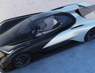 Faraday Future Unveils Batmobile-Like Electric Concept Car