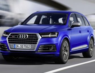 Audi's Powerful SQ7 TDI SUV Unveiled