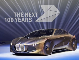"BMW Unveils the ""Vision Next 100"" Concept on 100th Birthday"