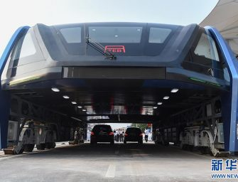 China's Elevated Bus Is What India Also Needs